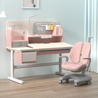 爱果乐儿童学习桌小学生书桌实木 写字桌椅套装可升降 课桌椅家用 小户型80cm/100cm/120cm课桌小学生写字桌椅