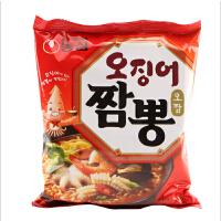 韩国进口食品 农心 鱿鱼海鲜面124g/袋