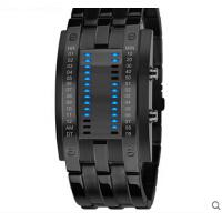 男士钢手表防水LED中性学生潮流时尚女表个性电子腕表