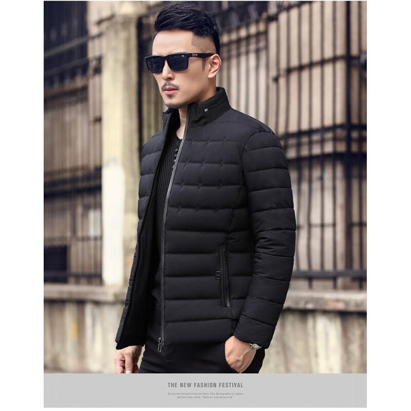 新款中年男士棉衣冬季加厚款爸爸冬装外套中老年人宽松40岁50棉袄父亲短款立领休闲衣服潮