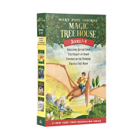 英文原版 Magic Tree House 神奇树屋1-4 4册套装 儿童绘本