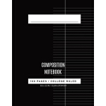 预订 College Ruled Composition book: composition books 8.5 x