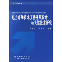 电力市场技术支持系统设计与关键技术研究(电力市场丛书)