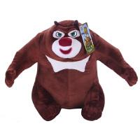 熊出没毛绒玩具 熊大毛绒公仔30cm 1/2-D0130