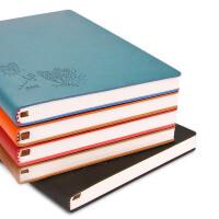 法拉蒙 文具笔记本创意记事本A5商务手账本厚日记本办公本子定制