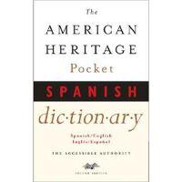 American Heritage Pocket Spanish Dictionary: Spanish/Englis