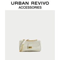 URBAN REVIVO2021春季新品女士配件单肩斜跨两用包AW04BB2N2004