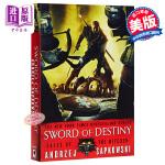 【中商原版】巫师(猎魔人)系列小说:命运之剑(短篇集) 英文原版 The Witcher:Sword of Desti