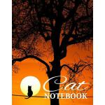 预订 Cat Notebook: Writing Jotter 120 Blank Lined Pages for C