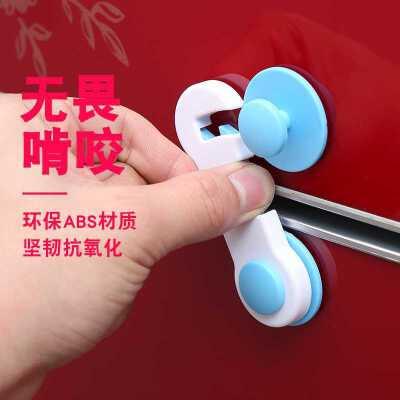 多功能儿童防夹手安全锁婴儿防护宝宝开冰箱柜子柜门抽屉马桶锁扣