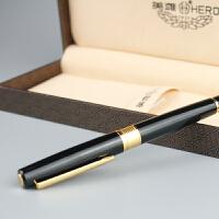 英雄钢笔正品 3801半包尖 练字商务书写专用 铱金笔墨水笔