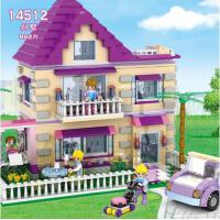 积高公主拼装乐高城堡女孩城市益智组装儿童玩具积木3-6-10周岁