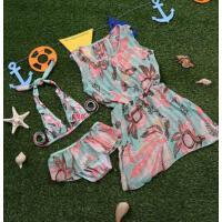 新款儿童游泳衣女童女孩泳装公主比基尼宝宝分体裙式小中大童泳衣 支持礼品卡