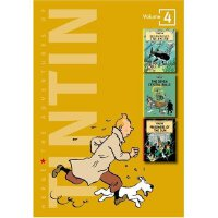 The Adventures of Tintin Vol.4 丁丁历险记合集4 ISBN 9780316358149