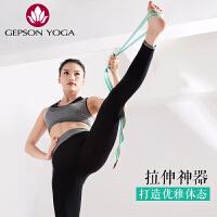杰朴森伸展带拉筋带拉伸空中瑜伽瑜珈挂绳愈加高含棉拉力带