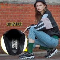 Skehers斯凯奇女鞋冬季新款休闲运动鞋防滑熊猫鞋