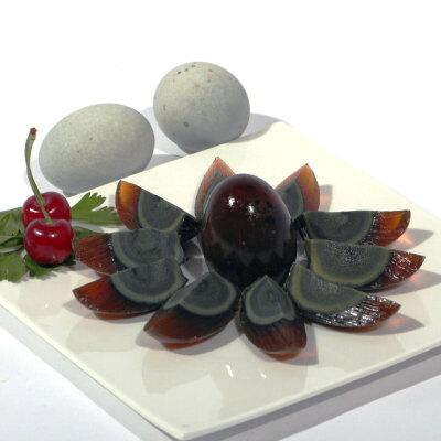 【包邮】礼盒1.3千克20枚松花蛋无铅工艺皮蛋新鲜微山湖特产非高邮咸鸭蛋黄