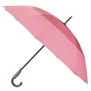 [当当自营]雨中鸟 碰起三色伞1829P枣红拼接
