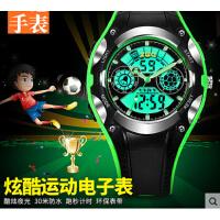 小学生防摔 男童手表防水儿童指针式男孩数字式韩国12-15岁电子表