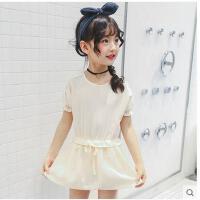 新款公主裙韩版童装女中大童女童裙子夏装短袖夏季儿童连衣裙  可礼品卡支付