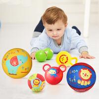 【当当自营】费雪(Fisher Price)宝宝健身球 儿童玩具球套装(六球混装 赠打气筒)F0917
