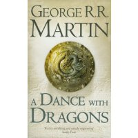英文原版 A Dance With Dragons (A Song of Ice and Fire, Book 5) 魔龙的狂舞(冰与火之歌5)