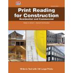 预订 Print Reading for Construction: Residential and Commerci