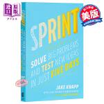 【中商原版】冲刺:如何解决大问题和在5天内检验新思路 英文原版 Sprint: How to Solve Big Pr