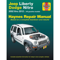 预订 Jeep Liberty & Dodge Nitro from 2002-2012 Haynes Repair