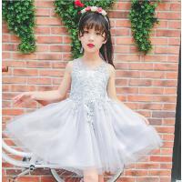 公主裙子女童装夏装纱裙大童新款韩版女孩儿童夏季女装连衣裙可礼品卡支付