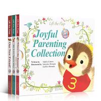 英文原版绘本叽里咕噜Joyful Parenting Collection幸福亲子套装3册儿童宝宝英语早教启蒙阅读机关