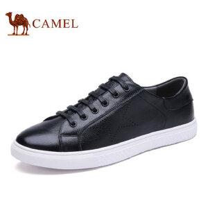 【领券下单立减111元】camel骆驼男鞋 新品时尚休闲潮流滑板鞋系带潮男鞋