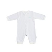 全棉时代新款婴儿连体服男女宝宝哈衣新生儿宝宝保暖爬服