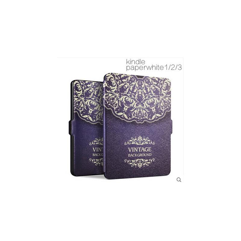 499kindle保护套 paperwhite1/2/3套958/899壳KPW3超薄皮套休眠 智能休眠唤醒 蚕丝手感