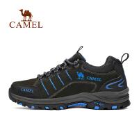camel骆驼户外徒步鞋 男女款防滑舒适低帮系带徒步鞋情侣