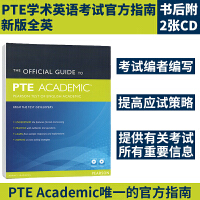 培生英文原版 PTE Official Guide ENG Pack New edition (Book+ CD-ROM) 全英PTE学术英语考试官方指南  200多道真题 208页