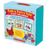 Folk & Fairy Tale Easy Readers Parent Pack 经典童话书15本套装(附家长导读