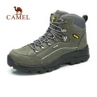 Camel骆驼 户外男款登山鞋 秋冬新款高帮防滑户外登山鞋