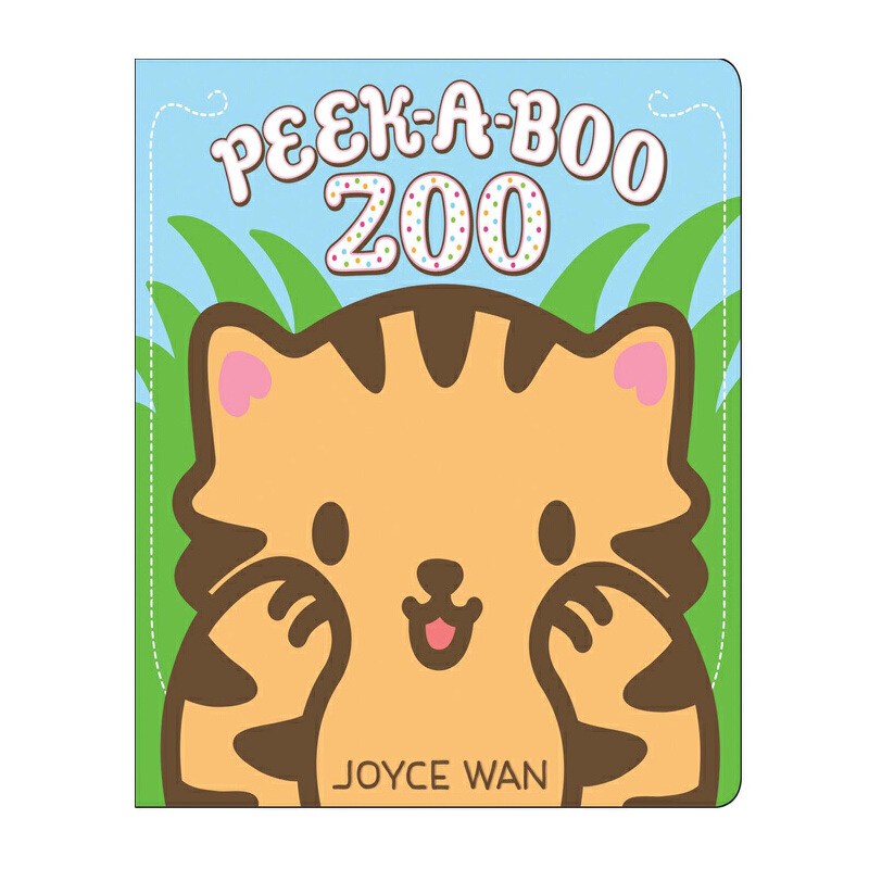 躲猫猫:动物园 英文原版 peek-a-boo zoo joyce wan cartwheel books