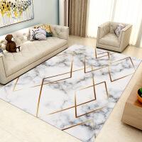 【领券到手价99元】祥然 家用定制美式客厅地毯机洗 沙发茶几垫几何北欧长方形