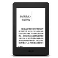 【支持礼品卡】Kindle Paperwhite3 全新升级版6英寸护眼非反光电子墨水触控显示屏 wifi 电子书阅读