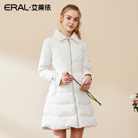 ERAL/艾莱依2018冬季新款时尚女装羽绒服女中长款外套617104123