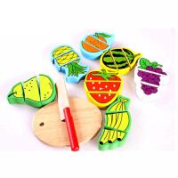 儿童手工动手玩具过家家 水果切切 益智|启智|木质|儿童 玩具
