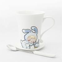 创意情侣杯骨瓷茶杯水杯 陶瓷马克杯 萌系可爱12生肖杯子