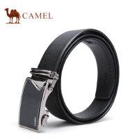 Camel骆驼男士自动扣皮带商务休闲牛皮腰带男款时尚青年韩版裤带