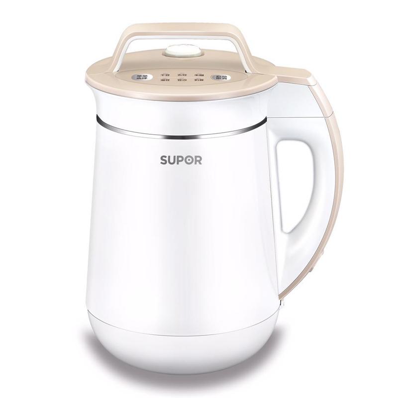 【supor】苏泊尔 dj15b-w15e豆浆机家用多功能全自动豆将机免滤特价