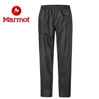 Marmot/土拨鼠2020春夏新款户外环保防水保暖舒适男士冲锋裤