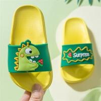 儿童拖鞋夏男童宝宝凉拖鞋女童中大童可爱防滑软底家居拖鞋亲子鞋