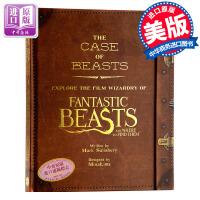【中商原版】神奇动物在哪里 设定集 收藏级超豪华档案 哈利波特 Fantastic Beasts JK罗琳 英文原版