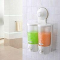双庆1901吸盘洗手液瓶壁挂式皂液器皂液器壁挂式免打孔浴室家用